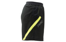 "Zoot Men's Performance Run 6"" Short black/safety yellow"
